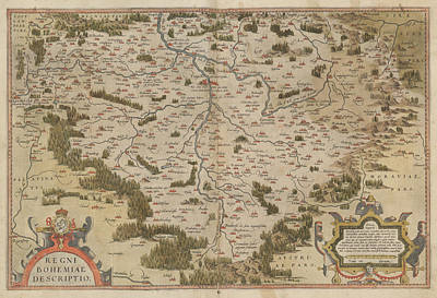 The Mercator Atlas Of Europe Art Print by British Library