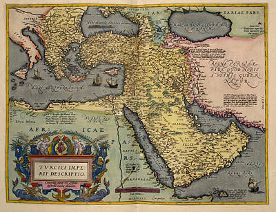 Abraham Photograph - The Middle East by British Library