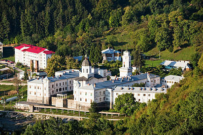 The Monastery Of Bistrita In Wallachia Art Print by Martin Zwick