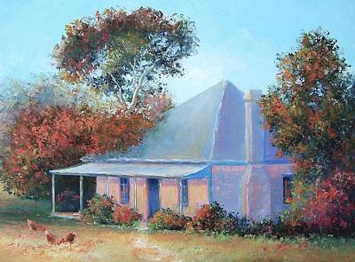 Old Farm House Painting