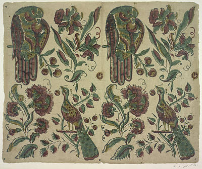 Blockprint Photograph - The Olga Hirsch Collection Of Decorated P by British Library