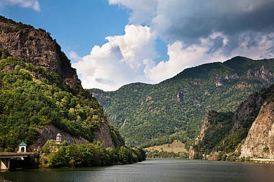 The Olt Gorge Through The Carpathian Art Print by Martin Zwick