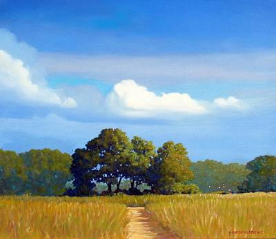 Painting - The Path by Kevin Lawrence Leveque