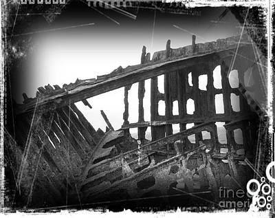 Mixed Media - The Peter Iredale 8 by Chalet Roome-Rigdon