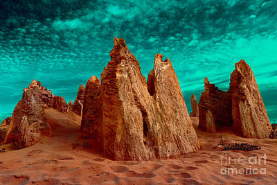 Photograph - The Pinnacles by Julian Cook
