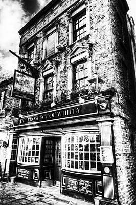 The Prospect Of Whitby Pub London  Art Print by David Pyatt
