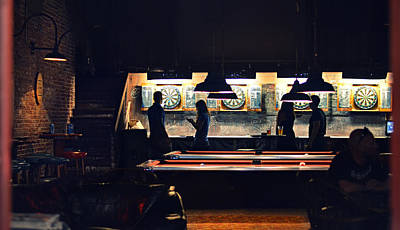 Billiards Digital Art - The Pub by Laura Fasulo