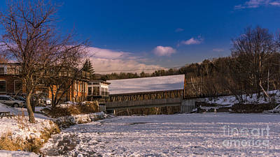 Photograph - The Quechee Bridge. by New England Photography
