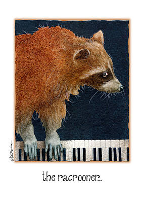 Piano Painting - The Racrooner... by Will Bullas