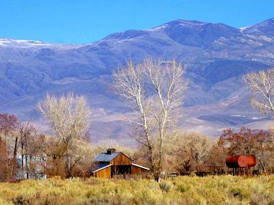 Art Print featuring the photograph The Ranch by Marilyn Diaz