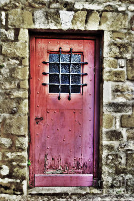 The Red Door Art Print by Paul Topp