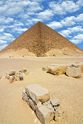 Northern Africa Photograph - The Red Pyramid (senefru Or Snefru by Nico Tondini