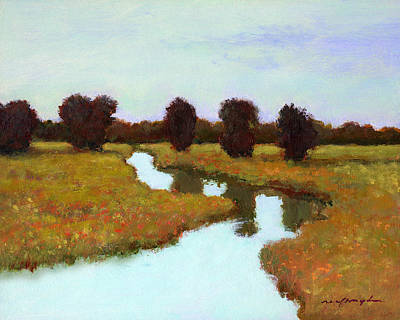 Painting - The River Takes You Home by J Reifsnyder
