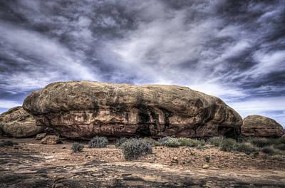 The Rock Art Print by Arnie Arnold