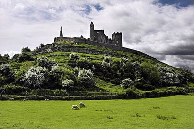 Photograph - The Rock Of Cashel Ireland In Summer by Pierre Leclerc Photography