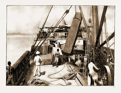 The Royal Niger Companys Expedition Everyday Scenes Print by Litz Collection