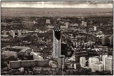 Photograph - The Shard - The View by Lenny Carter