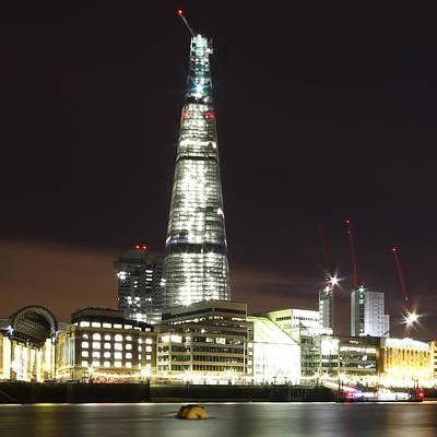 Thomas Kinkade - The Shard Skyscraper by Ollie Taylor