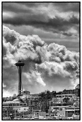 Monorail Photograph - The Space Needle by David Patterson
