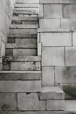 The Stairway Art Print by Shaun Higson