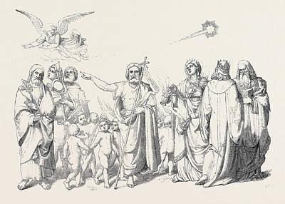 The Star Of Bethlehem Art Print