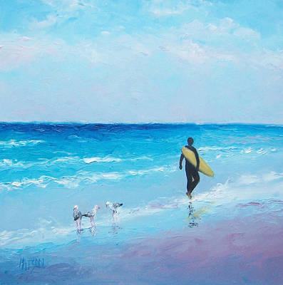 The Surfer Art Print