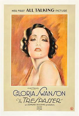 The Trespasser, Gloria Swanson, 1929 Art Print by Everett