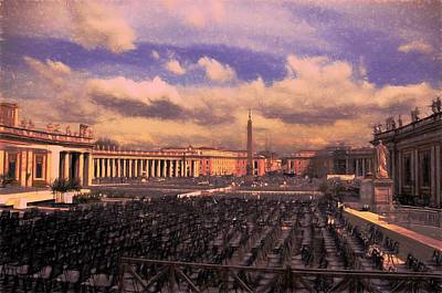 Photograph - The Vatican by Bill Howard