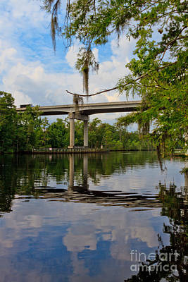 Photograph - The Waccamaw @ 544 Hwy II by Gene Berkenbile