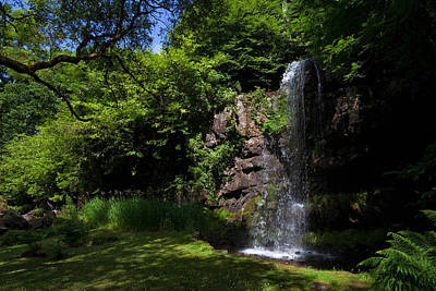 Reconstruction Photograph - The Waterfall, Kilfane Glen And Garden by Panoramic Images