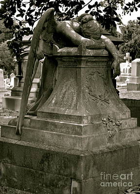 Photograph - The Weeping Angel by Sue McGlothlin