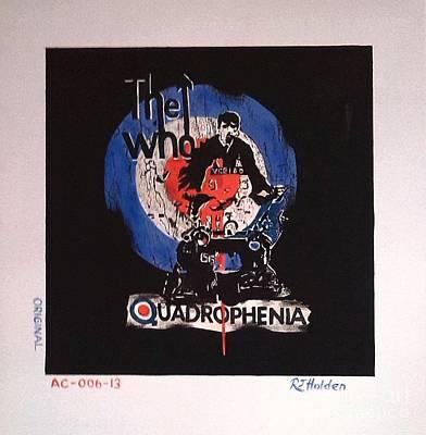 The Who - Quadrophenia Original by Richard John Holden RA