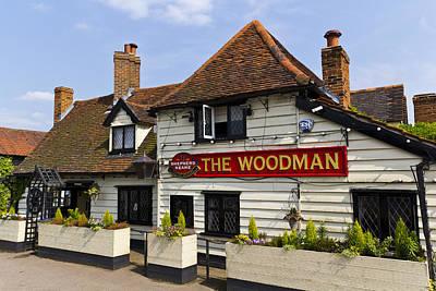 The Woodman Pub Art Print