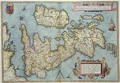 Theatrum Orbis Terrarum Art Print by British Library