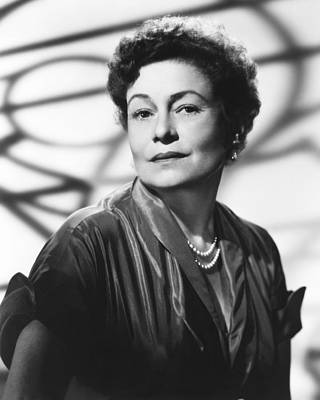 1950s Portraits Photograph - Thelma Ritter, Ca. Mid-1950s by Everett