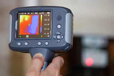 Thermal Photograph - Thermal Imaging Camera by Ashley Cooper