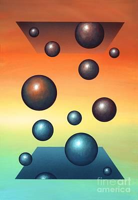 Thermodynamics, Conceptual Artwork Art Print