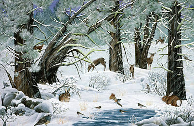 Painting - They Said It Wouldn't Snow by Jennifer Lake