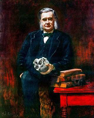 Collier Painting - Thomas Henry Huxley (1825-1895) by Granger