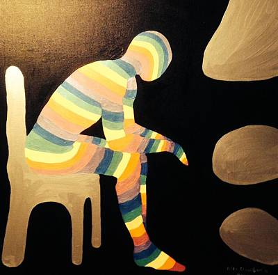 Painting - Thoughts by Erika Chamberlin