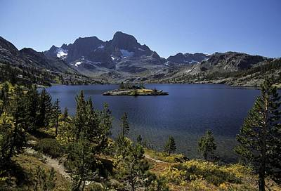 Photograph - Thousand Islands Lake And Mt. Davis by Don Kreuter