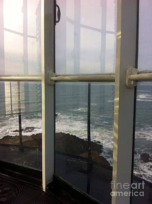 Photograph - Through Lighthouse Window  by Susan Garren