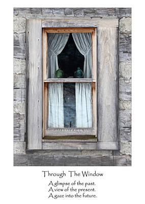 Photograph - Through The Window by Dale Kincaid