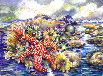Painting - Tidal Pool I by Ann  Nicholson