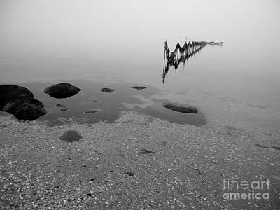 Art Print featuring the photograph Tidal Trap by Robert Riordan