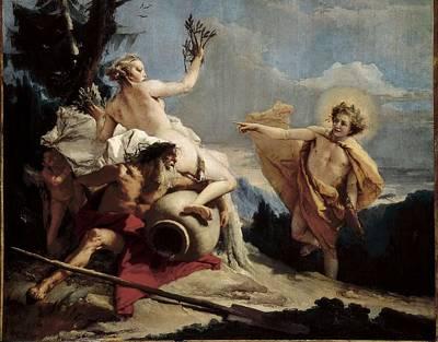 Tiepolo, Giovanni Battista 1696-1770 Art Print