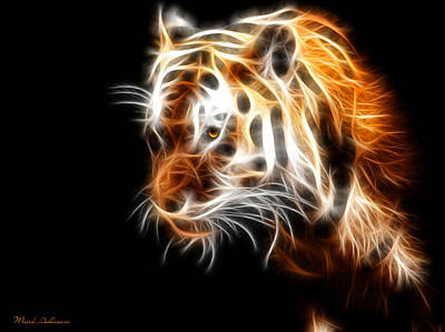 Tiger  Art Print by Mark Ashkenazi