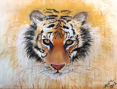 Painting - Tiger Tiger by Michelle Wolff