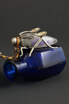 Sculpture - Time Collector by Judy Henninger