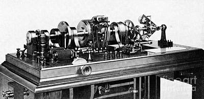 Time Standardization Apparatus, 1913 Art Print
